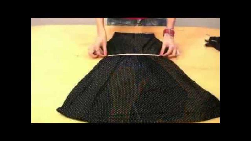 Как легко сшить платье видео