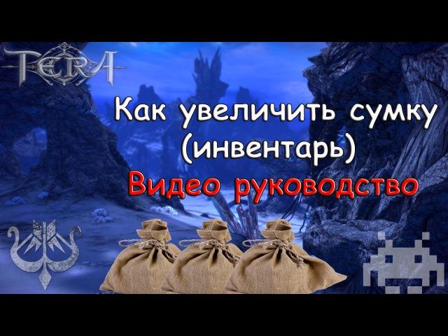 Tera Online Ru Как расширить инвентарь