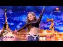 Валерия Рябченко - восточный танец Україна має талант-8.Діти [16.04.2016]