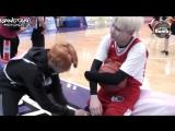 [RUS SUB][BANGTAN BOMB] Shooting guard SUGA with cheerleader 2 Jimin