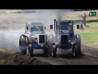 Гонки на тракторах в Ростовской области