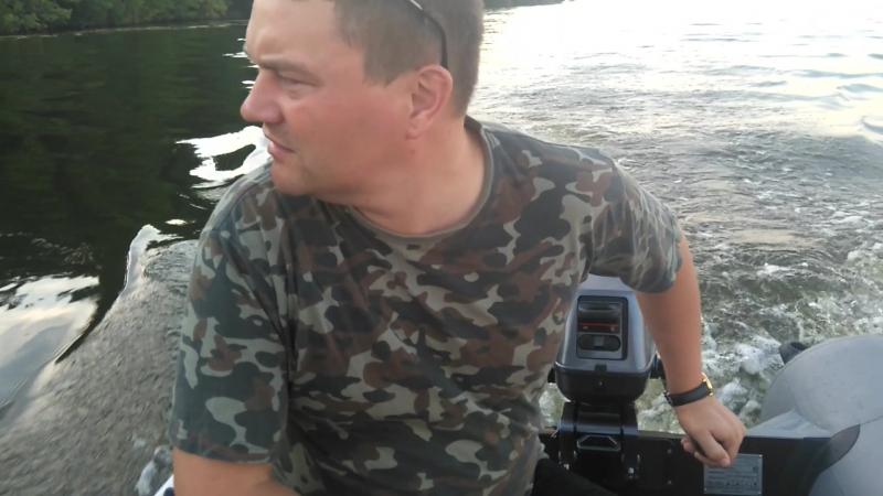 Sea-Pro T3S. Продолжение покатушек на Воронежском водохранилище