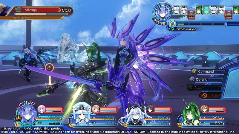 Megadimension Neptunia VII (2016) PC - Скриншот 3