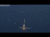 Первая в мире успешная посадка ракеты на морскую платформу / First Successful Barge Landing for SpaceX Falcon 9 First Stage