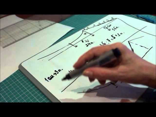 Расчет проймы и плеча в вязании спицами ч. 2 (Calculation armholes and shoulder Knitting Part 2)