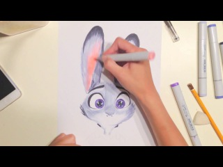 How to draw Judy from