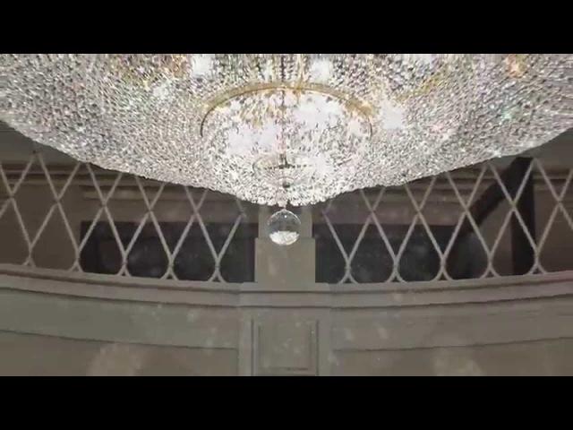 Lustry taneční sálChandeliers Dance hall - Busko Zdroj (PL)