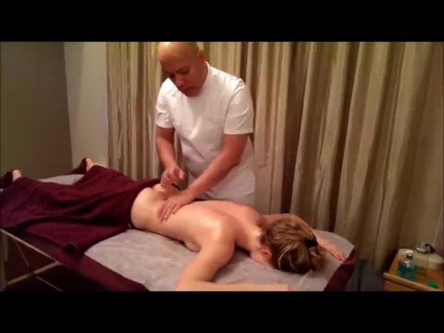 Мастер массажа Габриель Аскуль Урок 3 Следует ли клиенту разговаривать во время массажа