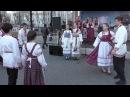 Фольклорный ансамбль Околица - Во саду ли, в огороде @ Пушкинская пл., Москва, 19.04.2015