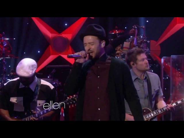 Justin Timberlake - TKO (Live On Ellen 2013)