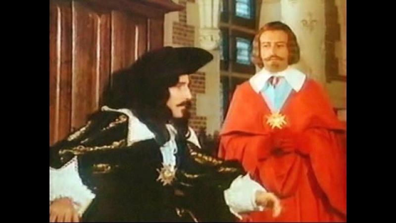 Ришелье 1977 2из3 исторический Потрясающий французский сериал по произведениям Филиппа Эрланже