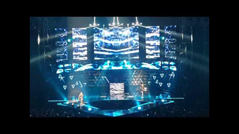 150425 Unpretty Rapstar Concert (언프리티랩스타) Tymee, Jace (타이미,제이스) - Clap