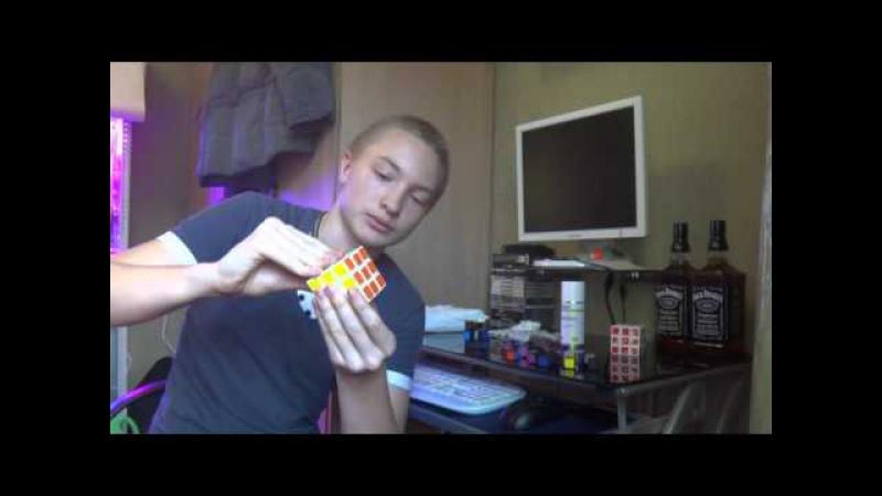 Мастер класс как правильно смазывать кубик-рубика (силиконовая смазка)