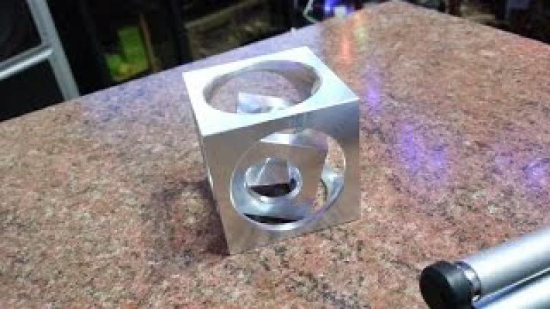 куб в кубе и в кубе. техпроцесс. cube in a cube