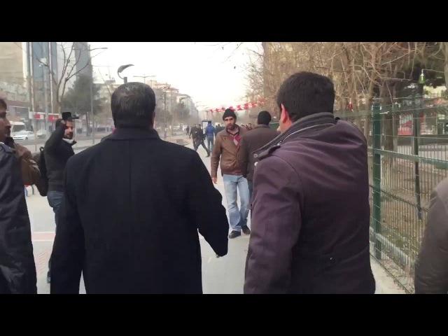 Batman'da HDPli vekil polis ile tartıştı Ben Devlet'im!