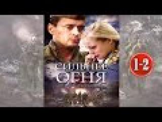 СИЛЬНЕЕ ОГНЯ, 1-2 серии. Замечательный Фильм про войну 1941 1945