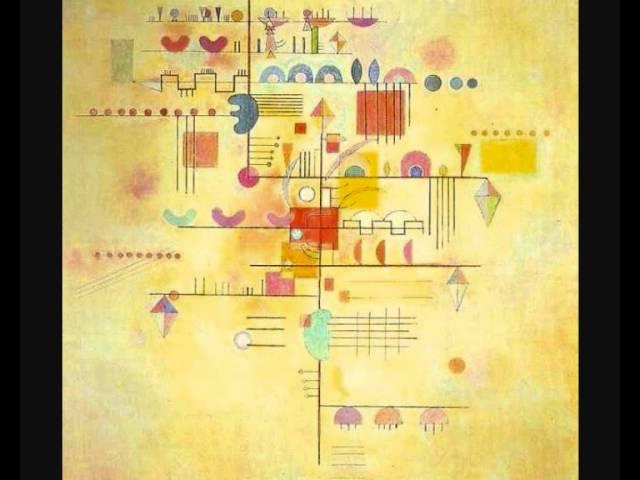 """Сценическая композиция В.Кандинского """"Желтый звук"""", музыка Альфреда Шнитке (Alfred Schnittke: Yellow Sound (1974) 2/3)"""