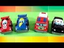 Машинки развивающие мультики все серии подряд!!! Рабочие и гоночные машины  Сборник мультфильмов