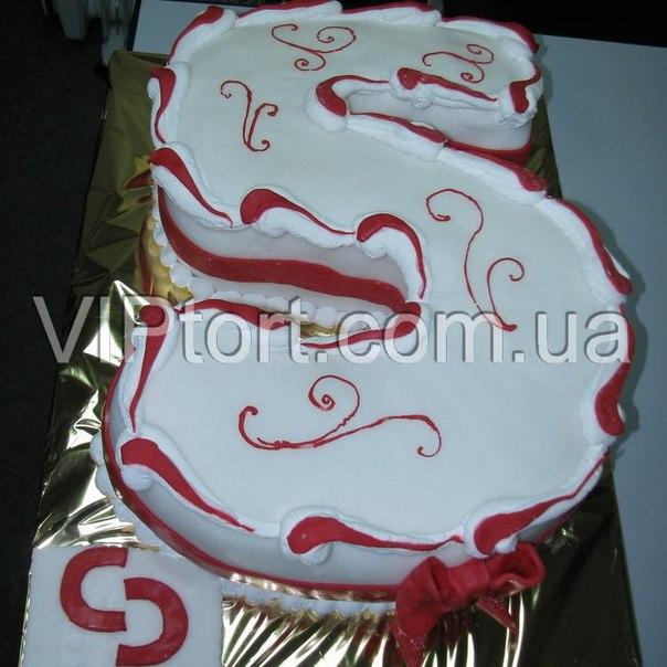 Торт из цифр как сделать