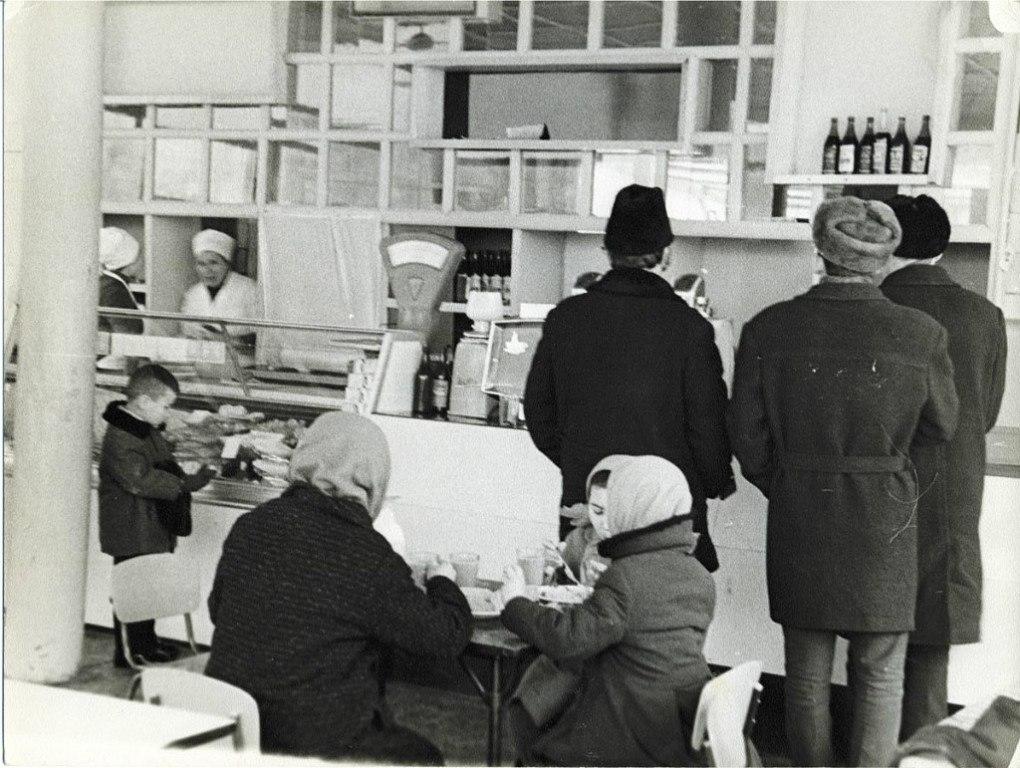 В «Спутнике». 1977 год