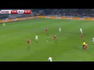 Словакия - Белоруссия(0_1) _ Обзор матча 09.10.2015