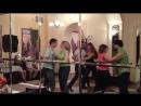 """Сальса в """"Праге"""". Мастерская Танцев и Пластики """"Intensity"""".6/07/15 ч.2"""