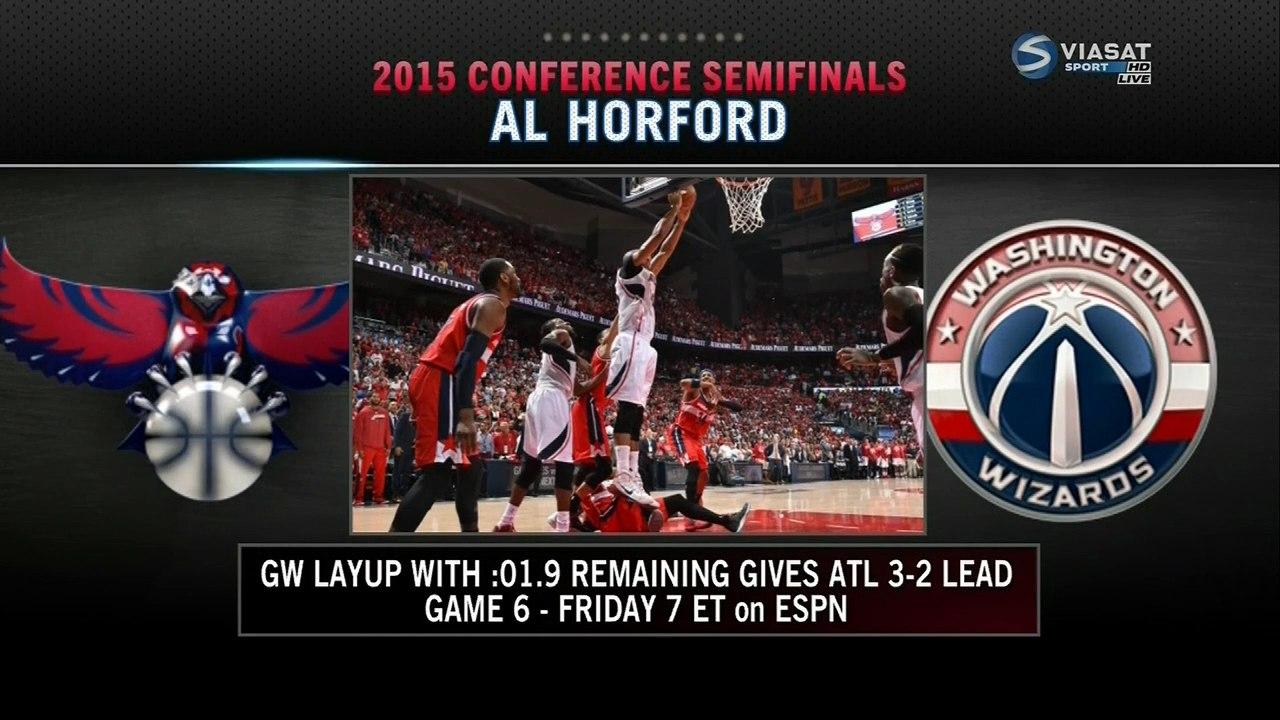 Атланта выигрыват Вашингтон 2015