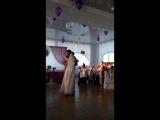 первый танец молодых после уже начатых танцев бабушкой