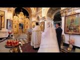 Красивая церемония венчания Андрея и Оксаны в Церкви Рождества Пресвятой Богородицы