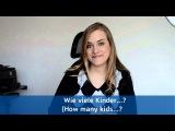 German Lesson (100) - How-Questions - wie lange, wie sp