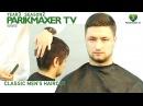Салонная мужская стрижка Classic men's haircut. парикмахер тв parikmaxer