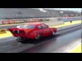1974 Chevy Vega 8 82 at 141 MPH in the Quarter   Gateway Motorsports