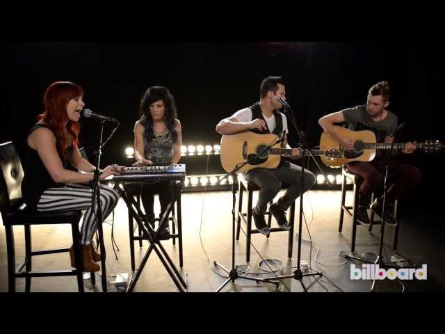 Skillet Performs Rise Live At Billboard Studios
