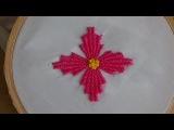 Hand Embroidery Kadai kamal Stitch (Flowers)