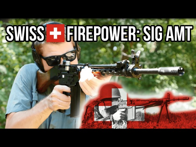 Swiss Firepower: The SIG AMT (SIG SG 510 / Sturmgewehr Stgw 57)