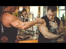 Александр Яшанькин и Артем Диянов тренировка травмированных плеч часть 2