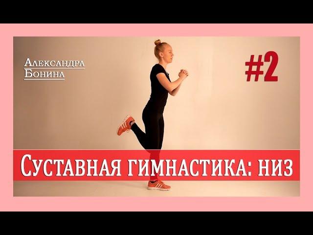 ► Суставная гимнастика - Низ! Упражнения для суставов видео [Часть 2]
