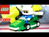 LEGO City Racing Car - Box Opening, Build and Play. Гоночная машина. ЛЕГО. Мультфильм.