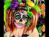 Виды макияжа на хэллоуин, тематическую вечеринку и новый год