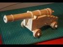Пушка из дерева своими руками Часть 3 Сборка лафета