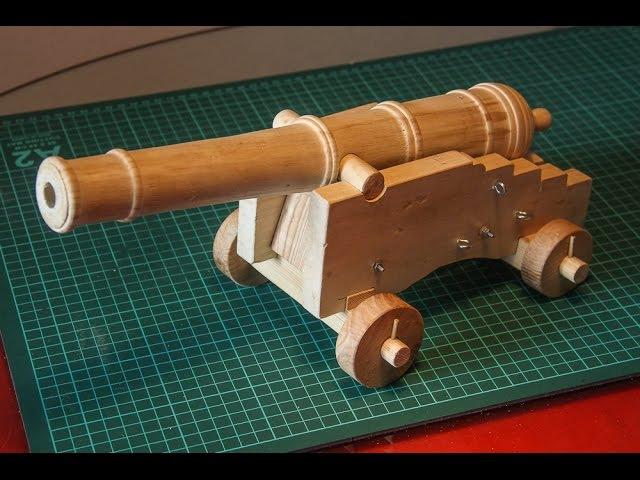 Пушка из дерева своими руками. Часть 3. Сборка лафета.