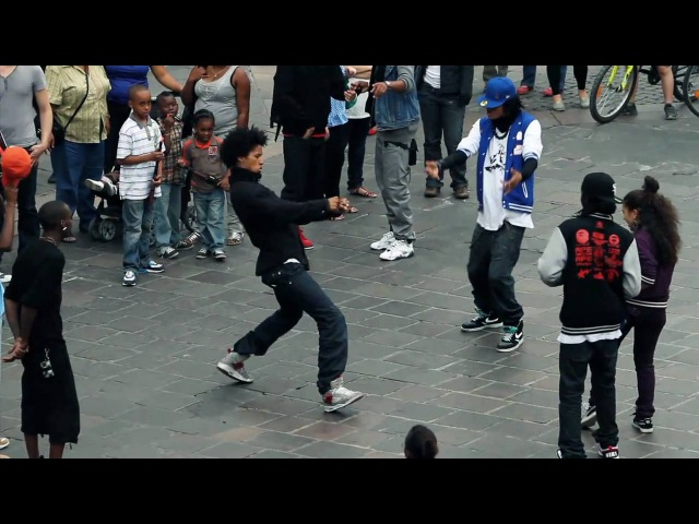 STREET BATTLE Les Twins VS. Bones The MachinePee Fly VS. LauraBoubou | YAK FILMS