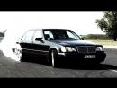 Mercedes S 600 V12 Biturbo 0-270km/h acceleration, and burnout/KO 860