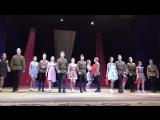 Инсценировка военной песни 11 школа