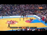 Црвена Звезда - Локомотив Кубань (Евролига 2015-2016, топ 16) 5 тур
