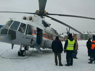 Вертолет МЧС вылетел за туристом на перевал Дятлова