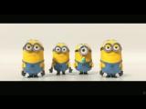 Музыкальное выступление миньонов из мультфильма - Гадкий Я 2 (Прикол)