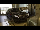 BRABUS 900 ROCKET engine in action