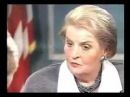 Madeleine Albright - The deaths of 500,000 Iraqi children was worth it for Iraq's non existent WMD's