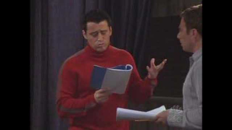 Funny Friends Scene Joey Learns French
